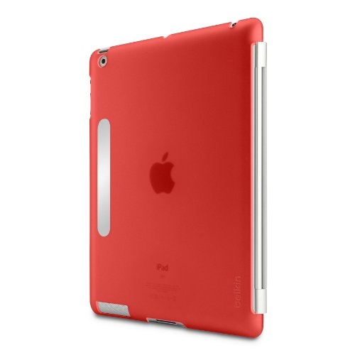 Belkin Snap Shield Case Secure for the Apple iPad 3 (3rd Generation) (Red)