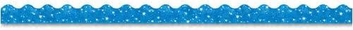 "Terrific Trimmers Sparkle Border、21/ 4"" x 39""パネル、ブルー、10/セット、1セットとして販売"