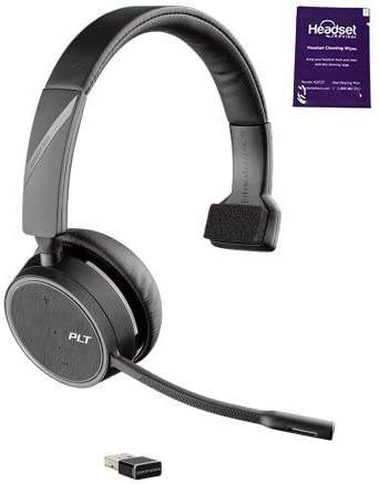Plantronics Voyager 4210 UC Wireless Headset For Business call. This is one of the best headset  calls