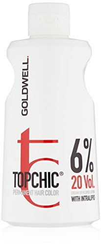 Price comparison product image Goldwell Topchic Developer Lotion, 20 Volume (6%), 32 Ounce