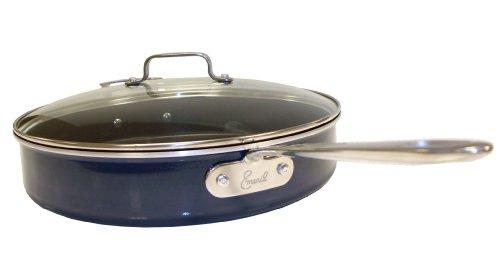 Emeril by All-Clad Hard Enamel Nonstick Scratch Resistant 5-Quart Sauce Pan