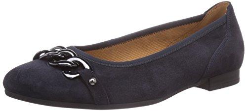 Blau Shoes Chiuse Ballerine Pazifik Donna Gabor Blu wz8XFpFqW