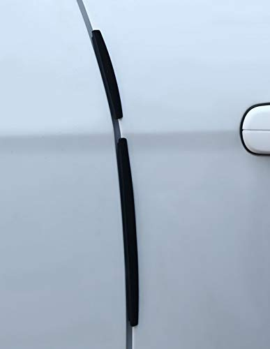 Flexibler T/ürschutz Auto Autot/üren Schwarz 4x 12cm 8x T/ÜRSCHUTZ T/ÜRKANTENSCHONER 4x 5,5cm