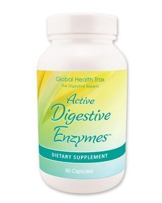 Cheap Global Health Trax Active Digestive Enzymes — 90 Capsules