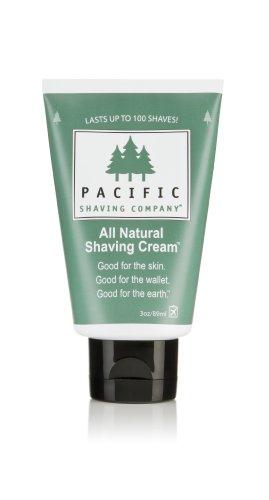 Afeitar pacífica compañía todo Natural crema de afeitar - 3 oz