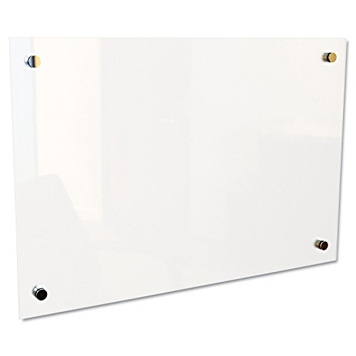BLT83950 - Balt Frosted Pearl Glass Dry Erase Markerboard (Glass Markerboard)