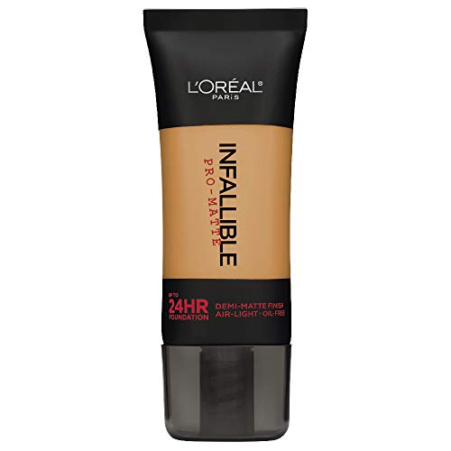 L'Oréal Paris Infallible Pro-Matte Liquid Longwear Foundation, Créme Café, 1 fl. oz.