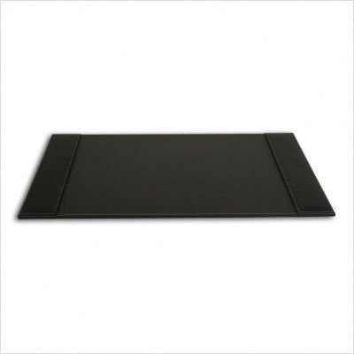 DACASSO Rustic Black Leather 25.5 x 17.25 Desk Pad by Dacasso