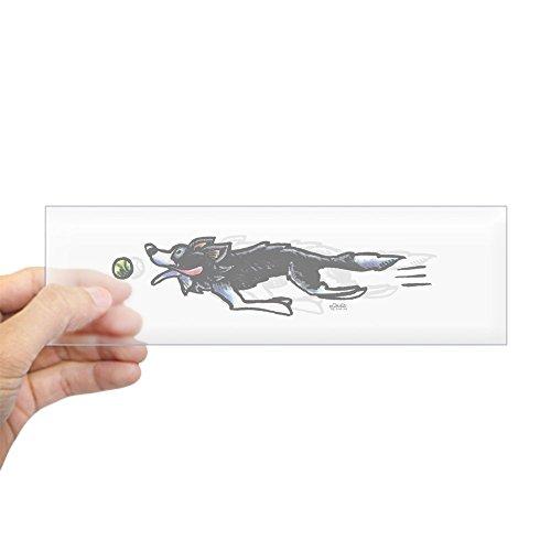 Border Collie Merchandise - CafePress Border Collie Action Bumper Sticker 10