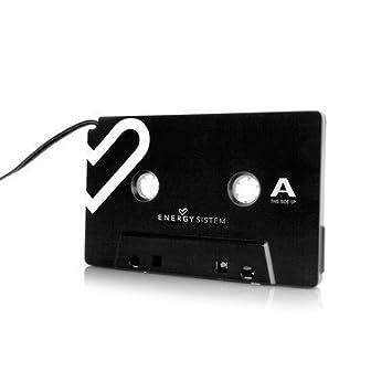 Energy Sistem K310 - Adaptador de coche para cassette, color negro: Amazon.es: Electrónica