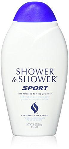Shower Powder Shower Body (SHOWER TO SHOWER Body Powder Sport 8 oz)