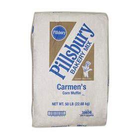 Pillsbury Corn Muffin Mix - Bulk 50 lb Bag