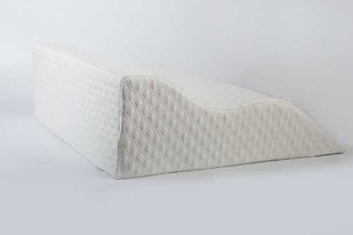 AERIS Large Memory Foam Bed Wedge Pillow for Acid Reflux 25 X 25 X 8.6 - Inch with Machine Washable Bamboo Cover by AERIS (Image #5)