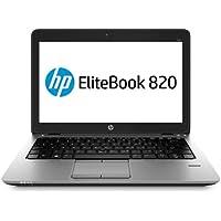 HP EliteBook 820 G1 - PC portátil - 12.5 '' - (Core i5-4300U / 1.9 GHz, 8GB RAM, SSD 128GB SSD, WiFi, Windows 10…