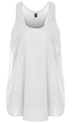Bianco Canotta Fashion Frieda Bianco donna Frieda Canotta Canotta Fashion Fashion Frieda donna 5HHUwTqgx