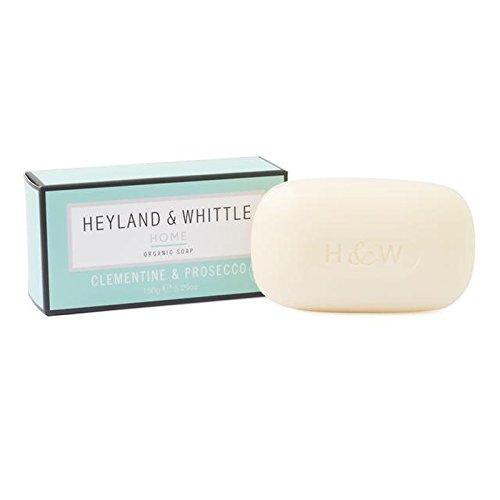 &削るホームクレメンタイン&プロセッコ有機石鹸150グラム x4 - Heyland & Whittle Home Clementine & Prosecco Organic Soap 150g (Pack of 4) [並行輸入品] B0713SMRLB