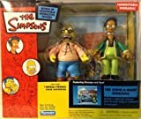 Playmates - The Simpsons - World of Springfield Diorama (Playset) - Kwik-E-Mart w/exclusive Apu and Grampa figures and custom accessories