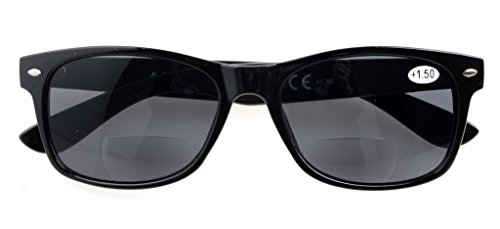 sol Bifocales de gris Lente Eyekepper Clásico 75 Gris Lente 093 Gafas 1 twfwI5q