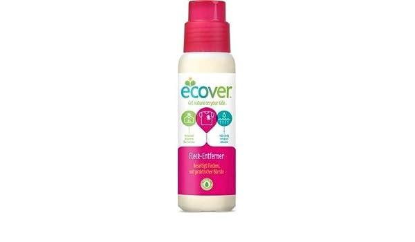 ECOVER Quitamanchas Excelente contra la suciedad persistente - Para la ropa blanca y de color - Fácil de usar - Con práctico cepillo - Especial para el ...