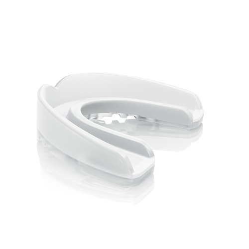 Shock Doctor Nano 3D Convertible Mouthguard (Trans Clear, (Shock Doctor Gel Nano)