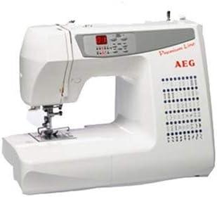 AEG NM679 - Máquina de Coser, 103 programas y Pantalla LCD: Amazon ...