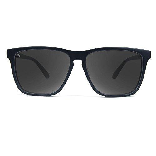 Sunglasses Smoke Polarized Lanes Black Fast KNOCKAROUND FxU1pp