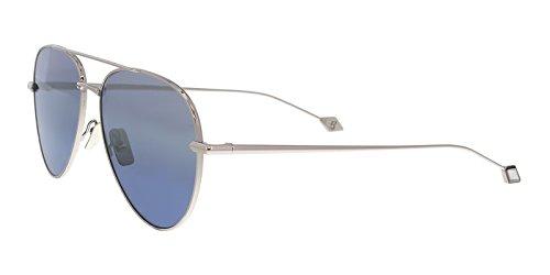Sunglasses Brioni BR 0025 S- 001 RUTHENIUM / - Sunglasses Brioni