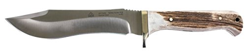 Puma-SGB-Buffalo-Hunter-Stag-Hunting-Knife-with-Leather-Sheath