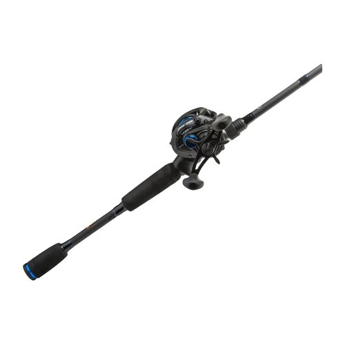 (Lew's Fishing American Heroes Speed Spool Baitcast Rod and Reel Combo, 7'/Medium Heavy/7.2 oz./120 yd./12 lb./6.4:1)
