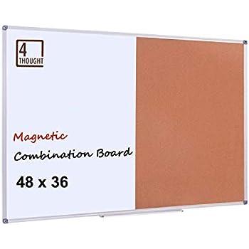 Amazon Com Magnetic Dry Erase Cork Combo Board 36x48