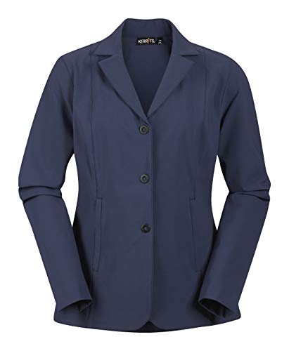 Kerrits Stretch Comp Koat 3 Button Navy Size: - Classic Jacket Show