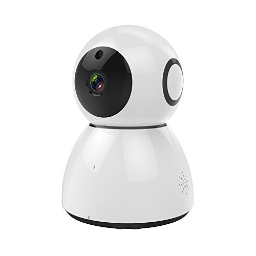 Taykoo Wireless 1080P IP Camera, Cloud Storage Home Camera Support Multi Platform with Pan/Tilt/Zoom, 2-Way Audio, Night Vision, Motion & Sound Detection, White(Free Experience) For Sale