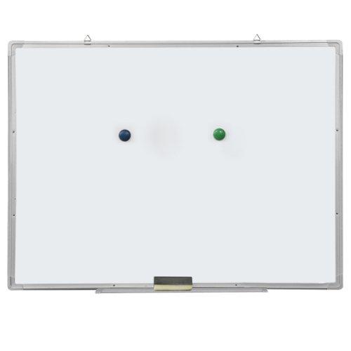 Yahee Weißwandtafel Whiteboard Magnetisch Tafel mit Alurahmen und Tafelwischer 50x35cm