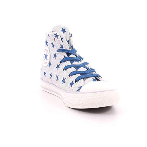 Hi Ctas Silver Scarpe court pure Basse 082 Blue Unisex Taylor Chuck Ginnastica Multicolore Converse Bambini Da tqHaEIx