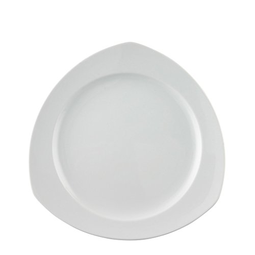 Thomas by Rosenthal Vario White Triangular Dinner Plate