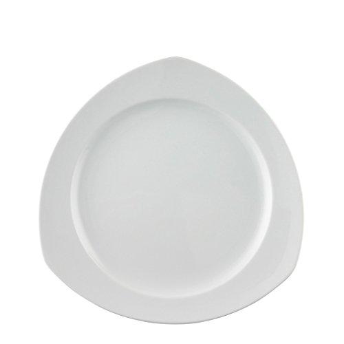 Vario White (Thomas by Rosenthal Vario White Triangular Dinner Plate)