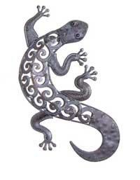 Gecko; Wall Art Gecko, Decorative Lizard Wall Decoration: Amazon ...