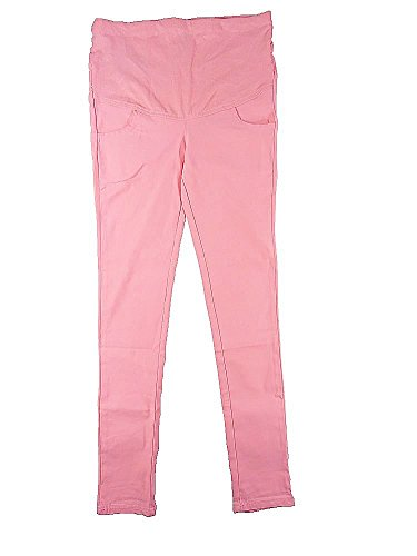 Cohaco Women's Stretch Skinny Maternity Colored Pants