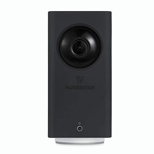 Protective Silicone Skin Compatible with Wyze Cam Pan - Accessorize, Camouflage, and Protect Your Wyze Cam Pan (Black)