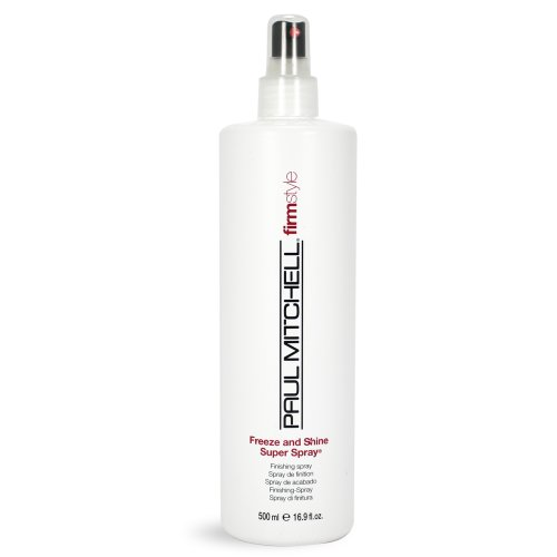 Paul Mitchell Firm Style Freeze and Shine Super Spray, 16.89 - Mitchell Paul Spray Shine