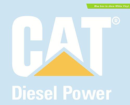 CAT Caterpillar Diesel Power Die-Cut Vinyl Transfer Decal (7.05