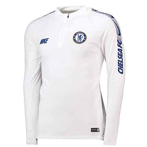 Nike 2018-2019 Chelsea Drill Training Top (White)