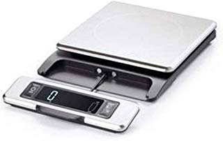 2018 NEW OXO Good Grips 11 Pound Stainless Steel Food Scale with Pull-Out Display (With BONUS PEARSONS JOURNAL Included)