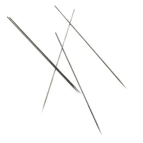 (Tinksky Stainless Steel 0.3mm Needle Replacement for Airbrush Gun, Pack of 5 )