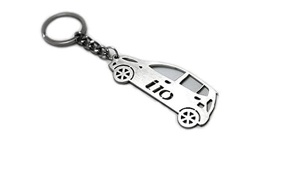 Llavero con anillo para Hyundai i10 I acero clave colgante ...