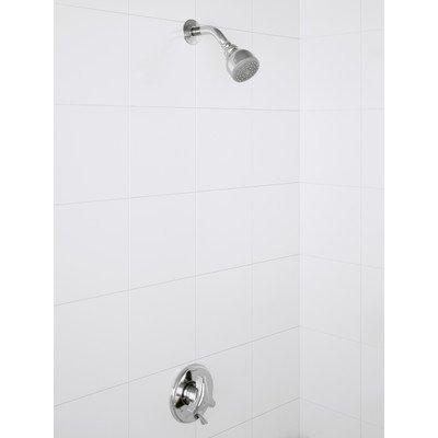 (Symmons 9601-P-1.5-TRM Origins Single Handle 1-Spray Shower Trim in Polished Chrome - 1.5 GPM (Valve Not Included) )
