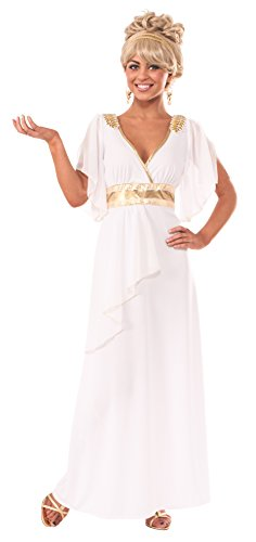 [Rubie's Costume Women's Grecian Adult Costume Dress, Multi, Small] (Grecian Sandals Costume)