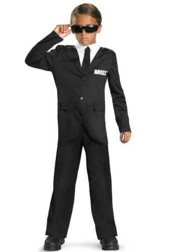 Disguise Men In Black 3 Classic Costume, Black/White, Small -