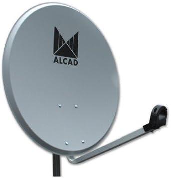 Alcad - Antena parabolica 80cm alcad: Amazon.es: Electrónica