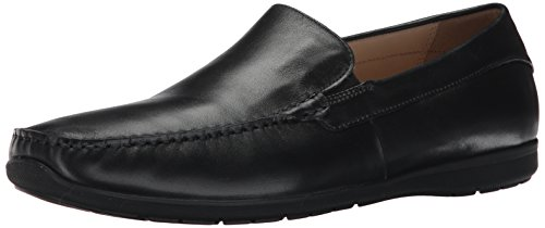 ECCO Mens Dallas Moc Slip-On Loafer Black 7Ju12Z2WE